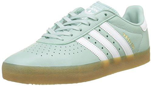 adidas 350 W, Scarpe da Ginnastica Donna, Verde (Ash Green S18/Ftwr White/Gum4), 39 1/3 EU