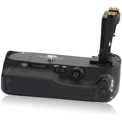 Pixel E-11 - Empuñadura para cámaras digitales Canon 5D Mark III, negro