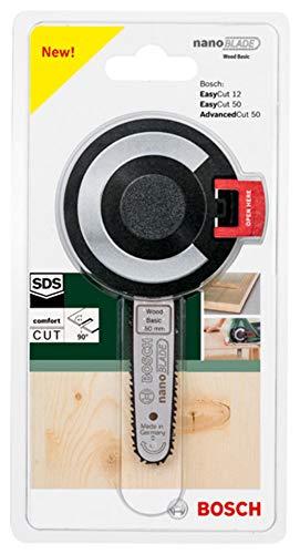 Bosch Sägeblatt Wood Basic 50 (mit NanoBlade Technologie für EasyCut 12, 50, AdvancedCut 18 und AdvancedCut 50) - 3