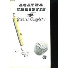 Agatha christie oeuvres completes n°3. le crime du golf, rendez-vous avec la mort, la maison biscornue, je ne suis pas coupable