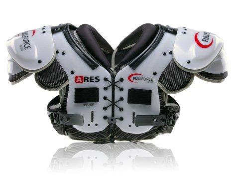 Full Force Ares Speed Position American Football Shoulder Pad QB/WR/Skill, Schwarz, L, FF0202022111