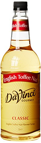 DaVinci Gourmet Classic English Toffee Nut Syrup Pet, 1er Pack (1 x 1 l)