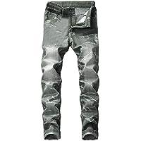 Geili Herren Lang Jeanshose Vintage Used Look Wasserwäsche Denim Hosen Jeans Hose Männer Große Größen Slim Fit... preisvergleich bei billige-tabletten.eu