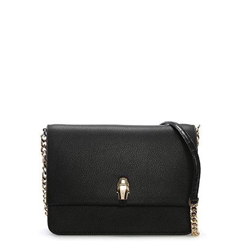CAVALLI CLASS Corinne femme Sacs portés épaule Noir (Black) 17x28x33 cm (B x H x T)