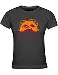 Saint Tropez Women's T-shirt by Shirtcity