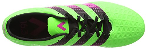 adidas Ace 16.3 Sg, Chaussures de Football Entrainement Homme Vert (Solar Green/Shock Pink/Core Black)