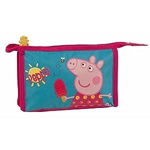 Estuche pongotodo Guardería Escuela Niña Peppa Pig