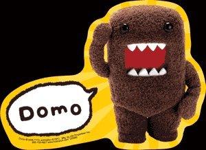 Domo-Kun - Domo Sticker US Import Orginal & (Domokun Kostüm)