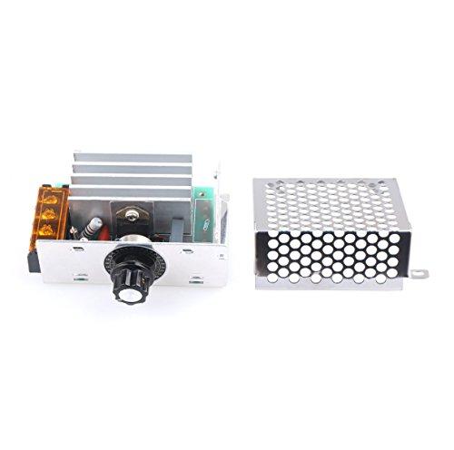 Preisvergleich Produktbild DROK® AC 220V 4000W High Power SCR Elektronische Spannungsregler Gouverneur Dimmer Thermostat Drehzahlregler