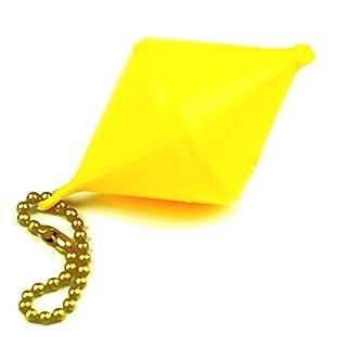 wellenshop Schlüsselanhänger Boje bikonisch schwimmfähig Gelb