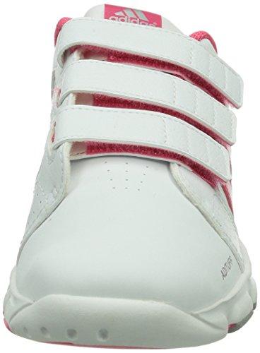 adidas Bts Class 4 Cf, Chaussures de Gymnastique fille Blanc