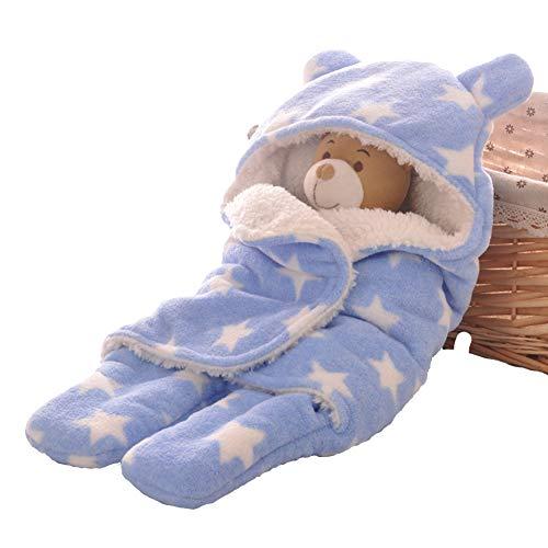 Babyfat sacco nanna con piedini neonato bambino autunno/invernale 2.5tog - pentagramma - blu label s(0-3m)