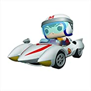 Funko- Pop Ride Racer-Speed w/Mach 5 Collectible Toy, Multicolore, 45098