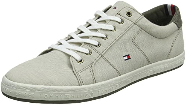 Tommy Hilfiger Essential Pique Denim scarpe da ginnastica, Scarpe da Ginnastica Basse Uomo   New Style    Uomini/Donne Scarpa