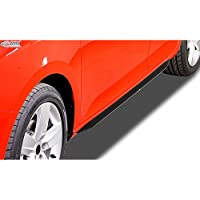 RDX Racedesign RDSL564 - Faldas laterales para Seat Leon 5F HB, 5 puertas/ST 2013- incl.FR (Abs Glossy), color negro