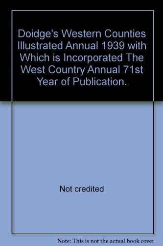 Doidge's Western Counties Illustrated Annual