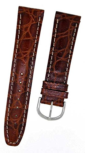 fortis-8804-swiss-brown-leather-watch-strap-with-beige-stitching-crocodile-20-mm
