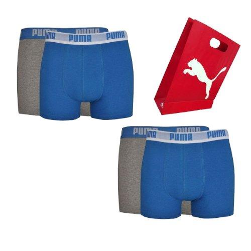 Preisvergleich Produktbild Puma Men Boxershort Basic Boxer NOS in Geschenktüte 4er Pack