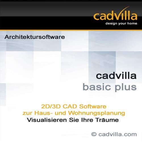 cadvilla basic plus, 2D/3D CAD Architektur Software / Programm