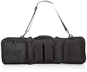 Swiss Arms Double Gun Rifle Bag 865mm x 280mm Black from Swiss Arms