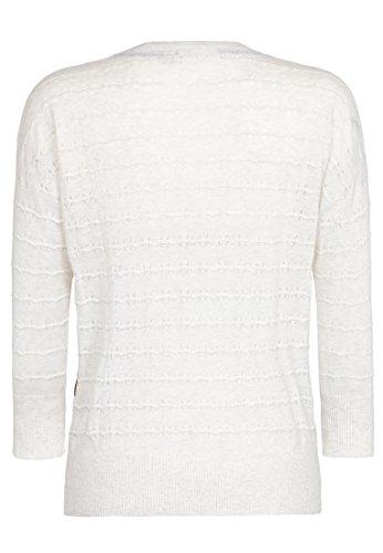 Naketano Female Knit Tittenalarm III White Marble Melange