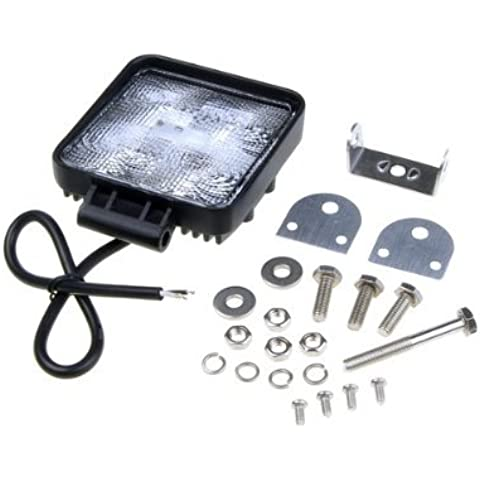 Round 15w LED Offroad Waterproof Driving Work