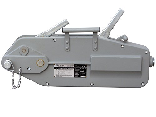 Rotek Seilzug SZ-3200, Kapazität 3.200kg inkl. 40m Spezialseil auf Haspel
