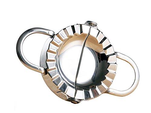 Makidar Knödel-Hersteller SUS304 Edelstahl-Knödel-Hersteller und Teig-Presse für Hauptküche, Edelstahl-Knödel-Torte Ravioli Form-Form-Hersteller-Gebäck-Werkzeug für das Kochen