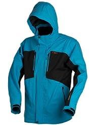 Campagnolo Man Jacket Zip Hood, oceano - blau/schwarz - 54