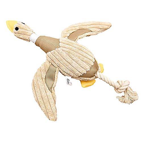 SOOKi Stockente Hundespielzeug Ente Hundespielzeug Quietschendes Hundespielzeug Plüsch Hündchen Kauspielzeug Für Kleine, Mittelgroße Hunde -