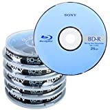 Blu-ray Disc Sony AccuCORE BD-R 25 Go, 1-6x vitesse en Cakebox, 50 pièces