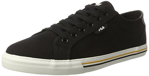 Fila Men Base Newport Low, Sneaker Uomo, Nero (Black 25Y), 43 EU
