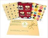 Bees Wax Wraps, UK Handmade, 3 large, BEE Zero Waste, 28x28cm(11x11''),100% cotton, Random Colours, Large Sandvich Wraps, plastic free