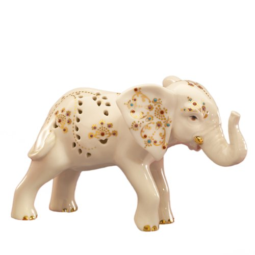Lenox Jewels of Light Frosch Figur Elefant Lenox Tiere