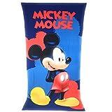 MICKEY Toalla de playa, toalla de playa de microfibra 70 x 140 cm Mouse –