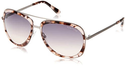 d4e73dbfce0 Tom Ford Lunettes de soleil 0469 - 55B  Coloured tortoise