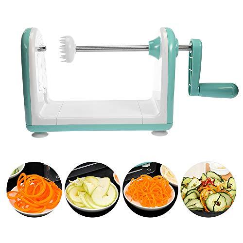 Haol Gemüsekartoffel-Slicer-Mandoline-Apfelfruchtschäler-Reibe-Gemüsespiralschneider-Werkzeuge für Karotte-Onlion-Blatt-Werkzeug