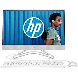 HP 24-f0079nf Ordinateur Tout-en-un 23,8'' FHD IPS Blanc (Intel Core i3, 4 Go de RAM, 2 To de Stockage, Windows 10)