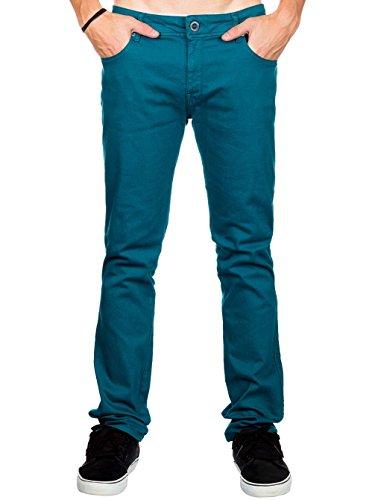 Volcom Herren Slim Fit Jeans strobe green