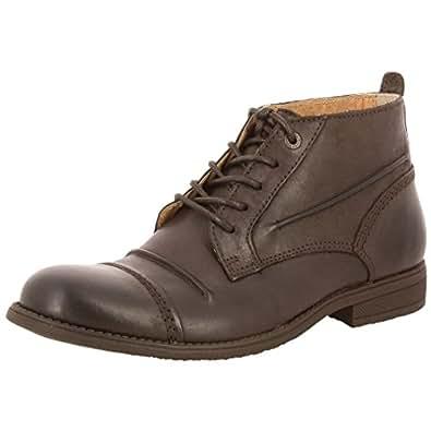 Kickers Massimo, Chaussures Lacées Homme, Noir (Noir), 41 EU