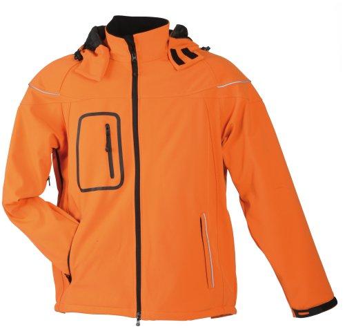 James & Nicholson Herren Jacke Orange
