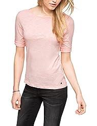 Esprit 996EE1K901 - T-shirt - Uni - Manches 3/4 - Femme