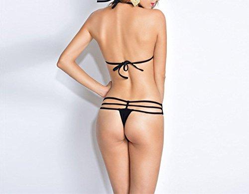 KUWOMINI. Lovely fashion bikini swimsuit Pink