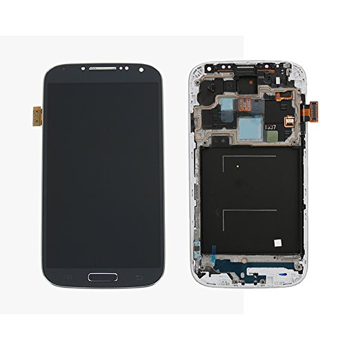 Zantec LCD display Digitizer Touchscreen + Rahmen für Samsung Galaxy S4 i337 M919 i9500 i9505 i545 L720 R970 (I337 Lcd)