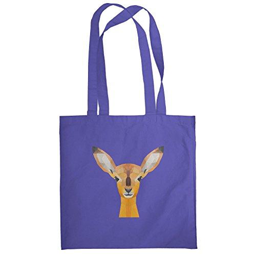 Texlab–Poly Oh My Deer–sacchetto di stoffa Marine