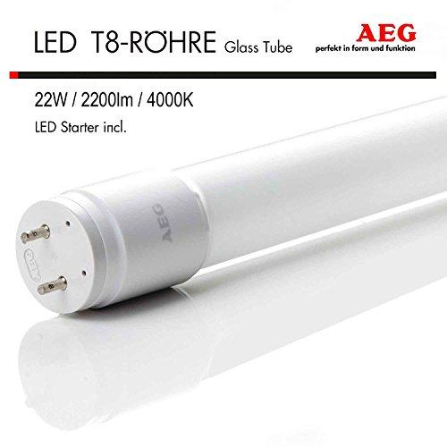 AEG LED ALL-PC T8 TUBE G13 LED Röhre Ersatz für Leuchtstoffröhre