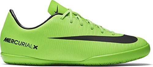 Nike Mercurial Victory Vi Ic, Chaussures de Football Mixte Enfant Vert (Electric Green/blk-flsh Lm-wht)