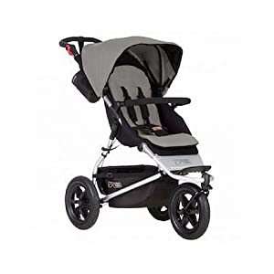 Mountain Buggy Urban Jungle Pushchair (2015) Per Material: ABS corner PVC connector Oxford cloth Mesh Size: height 65cm/25.59inch, length 142cm/55.9inch Age: 5 months to 3 years old 20
