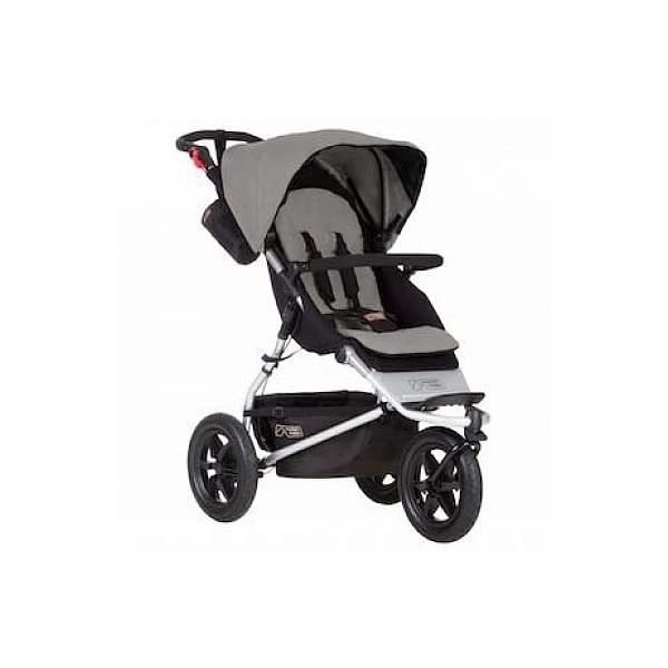 Mountain Buggy Urban Jungle Pushchair (2015) Mountain Buggy One hand fast fold with a hidden automatic frame lock Compact stand fold Hand operated brake, with green and red indicators 1