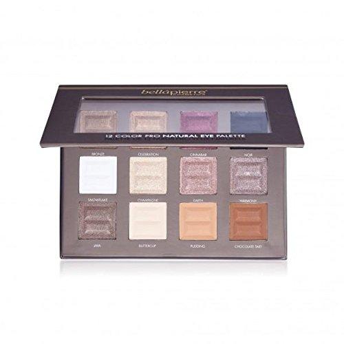 Bellápierre Cosmetics Make-up Augen 12 Color Pro Natural Eye Palette 21 g 1136d8cf59cb